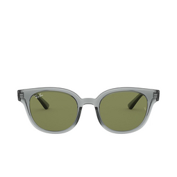 Ray-Ban® Square Sunglasses: RB4324 color Transparent Grey 64504E.