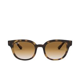 Ray-Ban® Square Sunglasses: RB4324 color Light Havana 710/51.