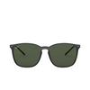 Ray-Ban® Square Sunglasses: RB4387 color Black 601/71 - product thumbnail 1/3.