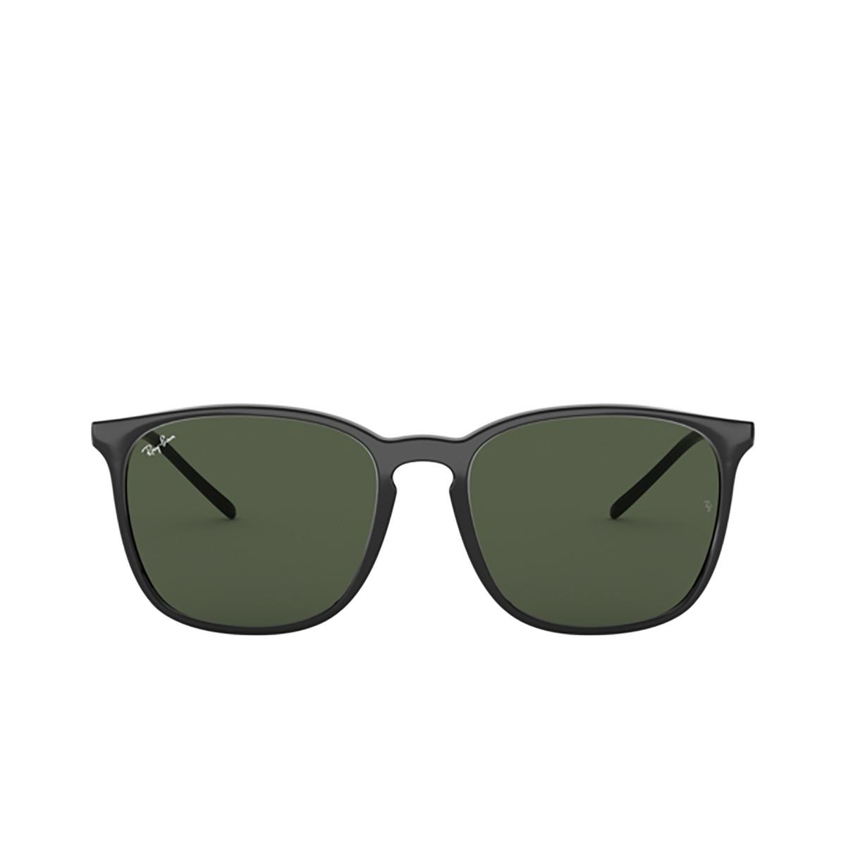 Ray-Ban® Square Sunglasses: RB4387 color Black 601/71 - 1/3.