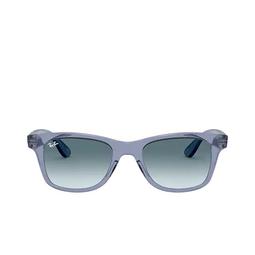Ray-Ban® Sunglasses: RB4640 color Transparent Blue 64963M.