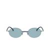 Ray-Ban® Oval Sunglasses: RB8060 color Gunmetal 004/80 - product thumbnail 1/3.
