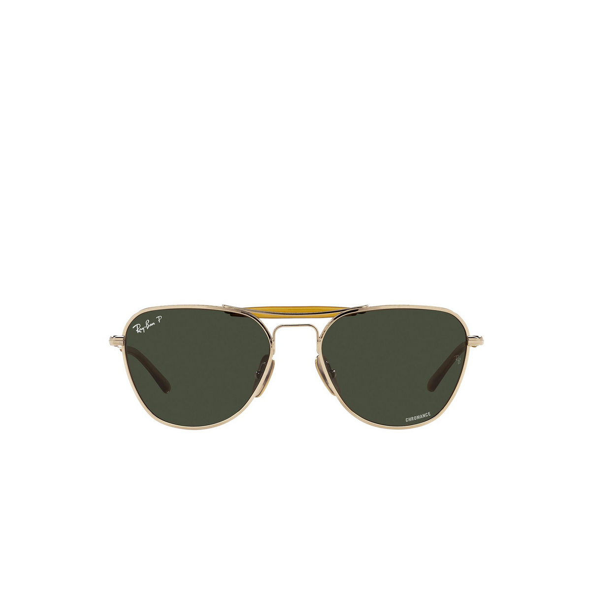 Ray-Ban® Irregular Sunglasses: RB8064 color Arista 9205P1 - front view.