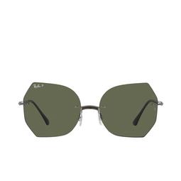 Ray-Ban® Sunglasses: RB8065 color Black On Gunmetal 004/9A.
