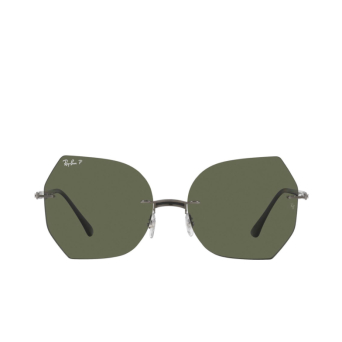 Ray-Ban® Irregular Sunglasses: RB8065 color Black On Gunmetal 004/9A.