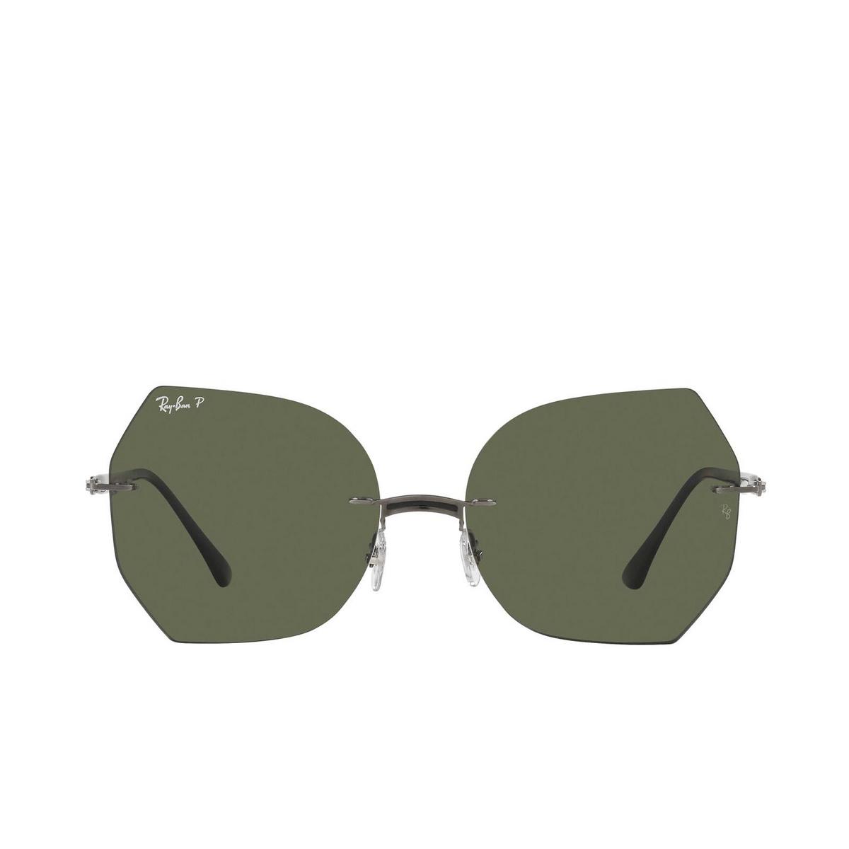 Ray-Ban® Irregular Sunglasses: RB8065 color Black On Gunmetal 004/9A.