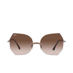 Ray-Ban® Sunglasses: RB8065 color Brown On Light Brown 155/13.