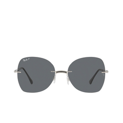 Ray-Ban® Sunglasses: RB8066 color Black On Silver 003/81.