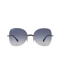Ray-Ban® Sunglasses: RB8066 color Blue On Gunmetal 004/4L.