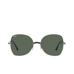 Ray-Ban® Sunglasses: RB8066 color Black On Sanding Gunmetal 154/71.
