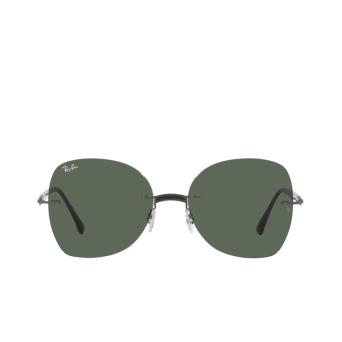Ray-Ban® Irregular Sunglasses: RB8066 color Black On Sanding Gunmetal 154/71.