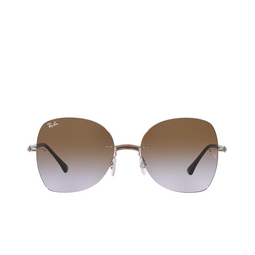 Ray-Ban® Sunglasses: RB8066 color Brown On Light Brown 155/68.