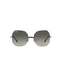 Ray-Ban® Irregular Sunglasses: RB8067 color Red On Gunmetal 004/11.