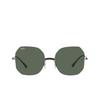Ray-Ban® Irregular Sunglasses: RB8067 color Black On Sanding Gunmetal 154/71 - product thumbnail 1/3.