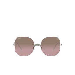 Ray-Ban® Irregular Sunglasses: RB8067 color White On Grey 159/14.