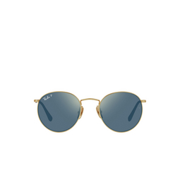 Ray-Ban® Sunglasses: RB8247 color Demigloss Antique Gold 9207T0.