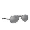 Ray-Ban® Aviator Sunglasses: RB8301 color Shiny Gunmetal 004/K6 - product thumbnail 2/3.
