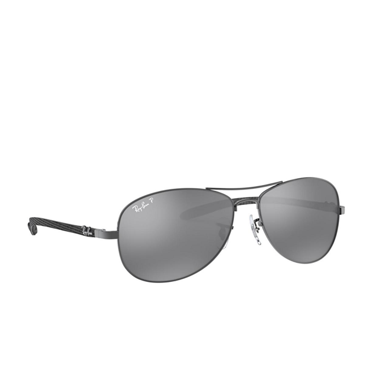 Ray-Ban® Aviator Sunglasses: RB8301 color Shiny Gunmetal 004/K6 - 2/3.
