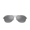 Ray-Ban® Aviator Sunglasses: RB8301 color Shiny Gunmetal 004/K6 - product thumbnail 1/3.