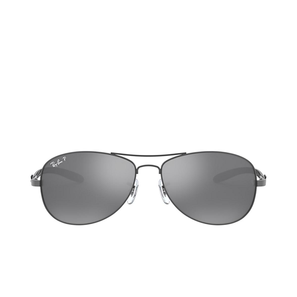 Ray-Ban® Aviator Sunglasses: RB8301 color Shiny Gunmetal 004/K6 - 1/3.