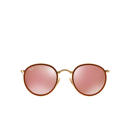 Ray-Ban® Round Sunglasses: Round Folding I RB3517 color Arista 001/Z2.