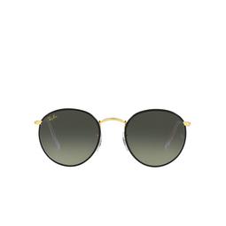 Ray-Ban® Sunglasses: Round Full Color RB3447JM color Black On Legend Gold 919671.