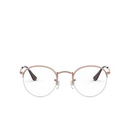 Ray-Ban® Eyeglasses: Round Gaze RX3947V color Copper 2943.