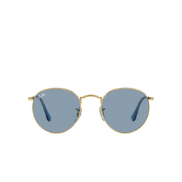 Ray-Ban® Sunglasses: Round Metal RB3447 color True Blue 001/56.