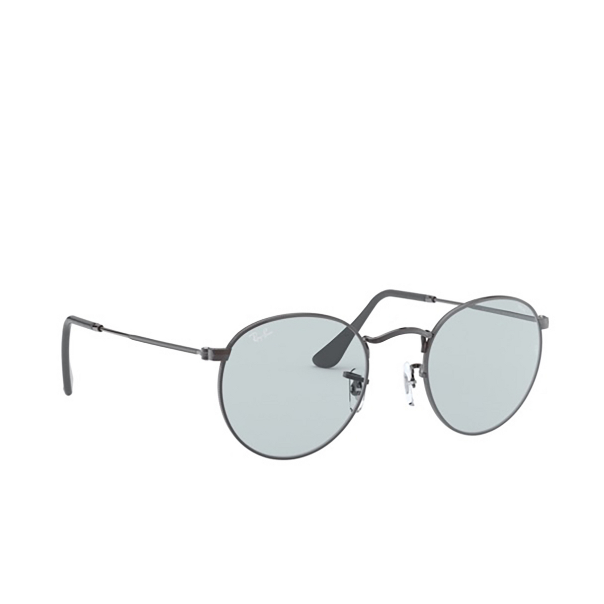 Ray-Ban® Round Sunglasses: Round Metal RB3447 color Gunmetal 004/T3.