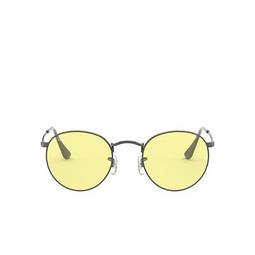 Ray-Ban® Sunglasses: Round Metal RB3447 color Gunmetal 004/T4.