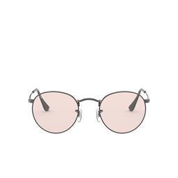 Ray-Ban® Sunglasses: Round Metal RB3447 color Gunmetal 004/T5.