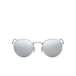 Ray-Ban® Sunglasses: Round Metal RB3447 color Matte Silver 019/30.