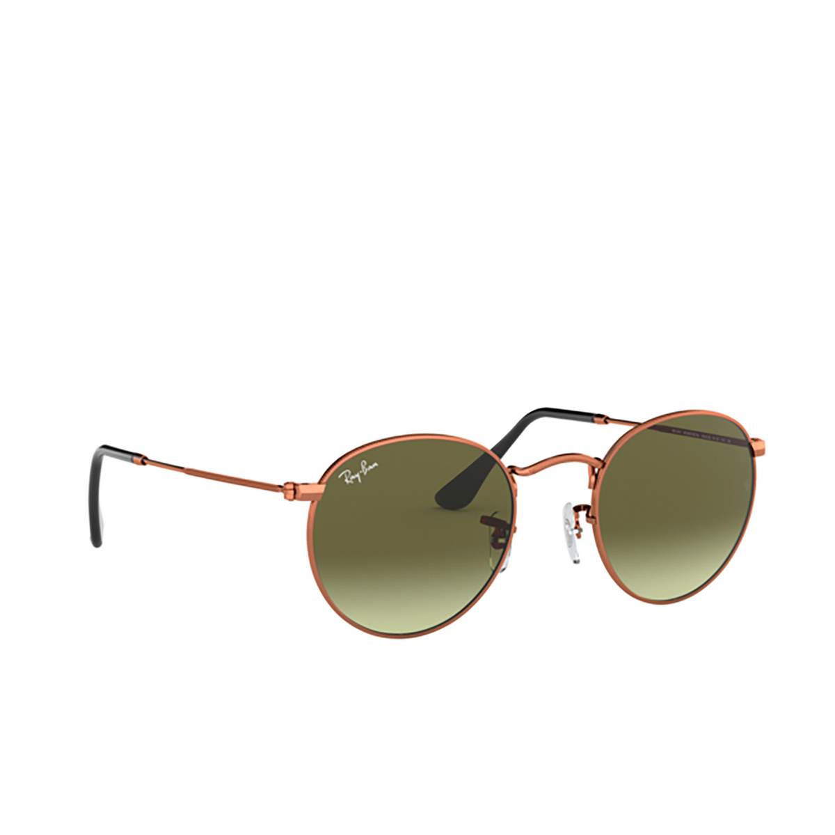 Ray-Ban® Round Sunglasses: Round Metal RB3447 color Medium Bronze 9002A6.