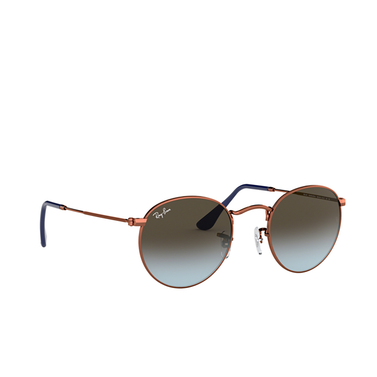Ray-Ban® Round Sunglasses: Round Metal RB3447 color Dark Bronze 900396.
