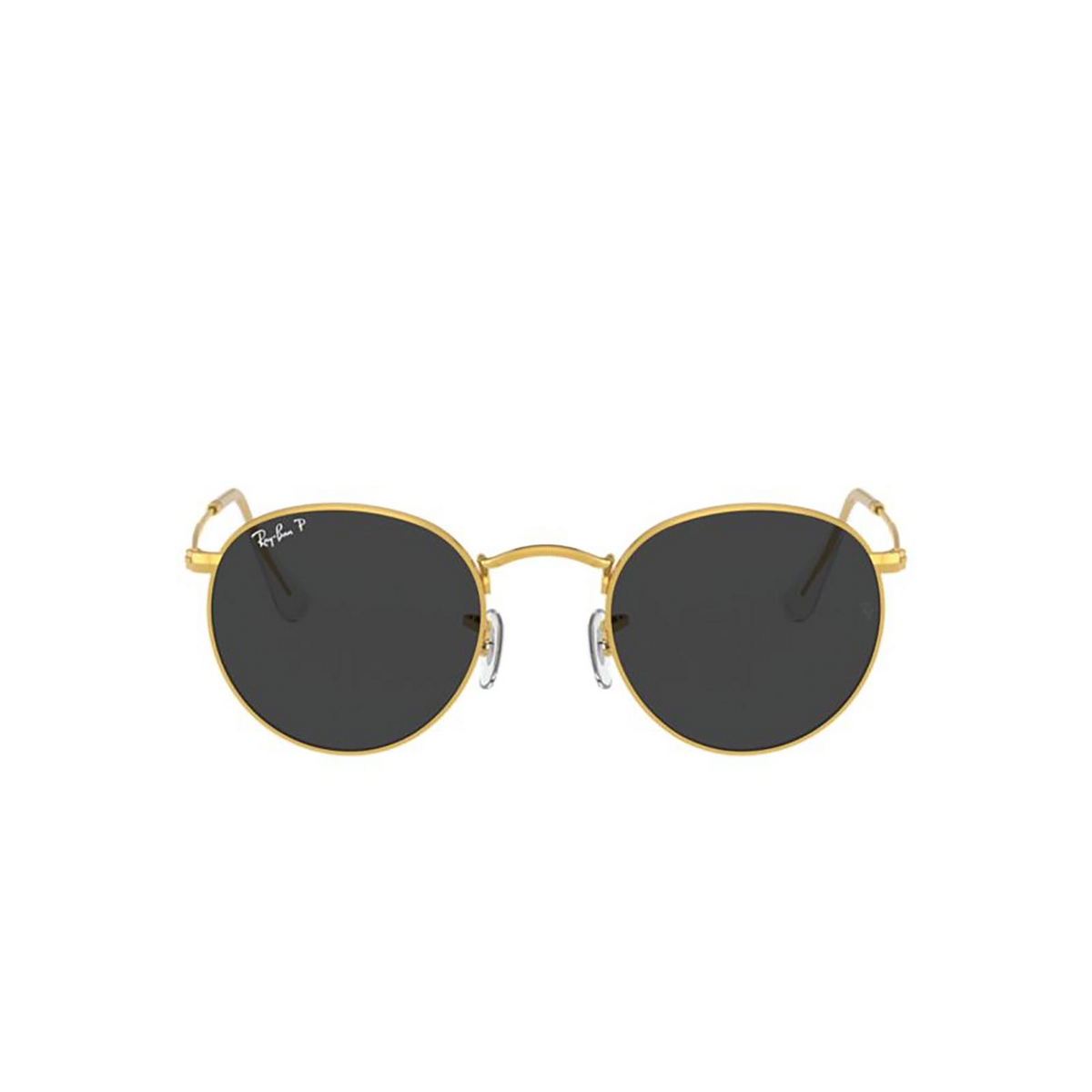 Ray-Ban® Round Sunglasses: Round Metal RB3447 color Gold 919648.