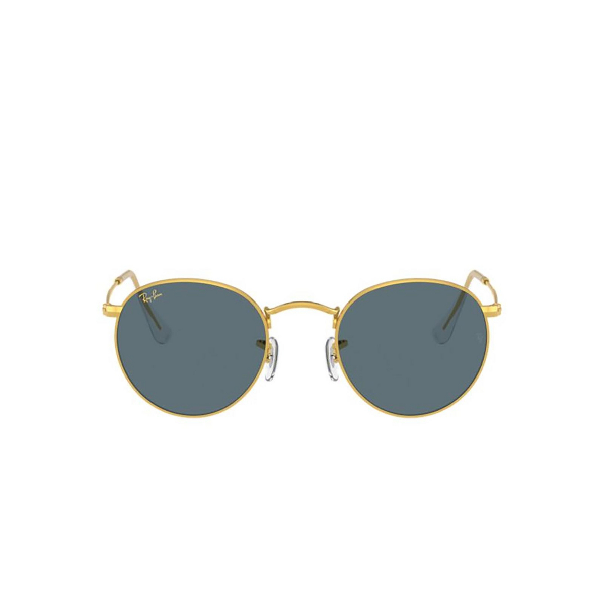 Ray-Ban® Round Sunglasses: Round Metal RB3447 color Legend Gold 9196R5.