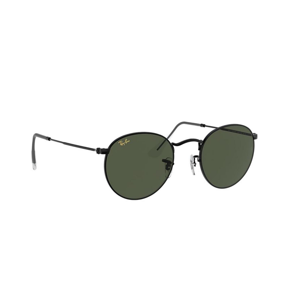 Ray-Ban® Round Sunglasses: Round Metal RB3447 color Black 919931.