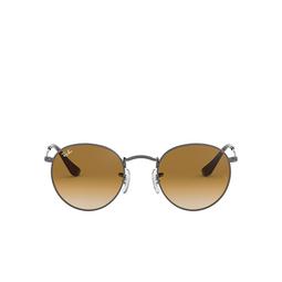 Ray-Ban® Sunglasses: Round Metal RB3447N color Gunmetal 004/51.