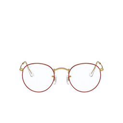 Ray-Ban® Eyeglasses: Round Metal RX3447V color Red On Legend Gold 3106.