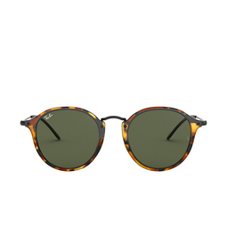 Ray-Ban® Round Sunglasses: Round RB2447 color Spotted Black Havana 1157.