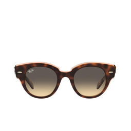 Ray-Ban® Sunglasses: Roundabout RB2192 color Havana On Transparent Pink 1324BG.