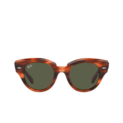 Ray-Ban® Sunglasses: Roundabout RB2192 color Striped Havana 954/31.