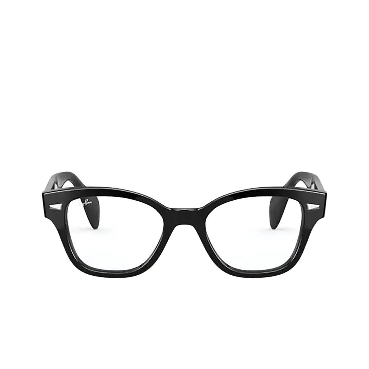 Ray-Ban® Square Eyeglasses: RX0880 color Black 2000.