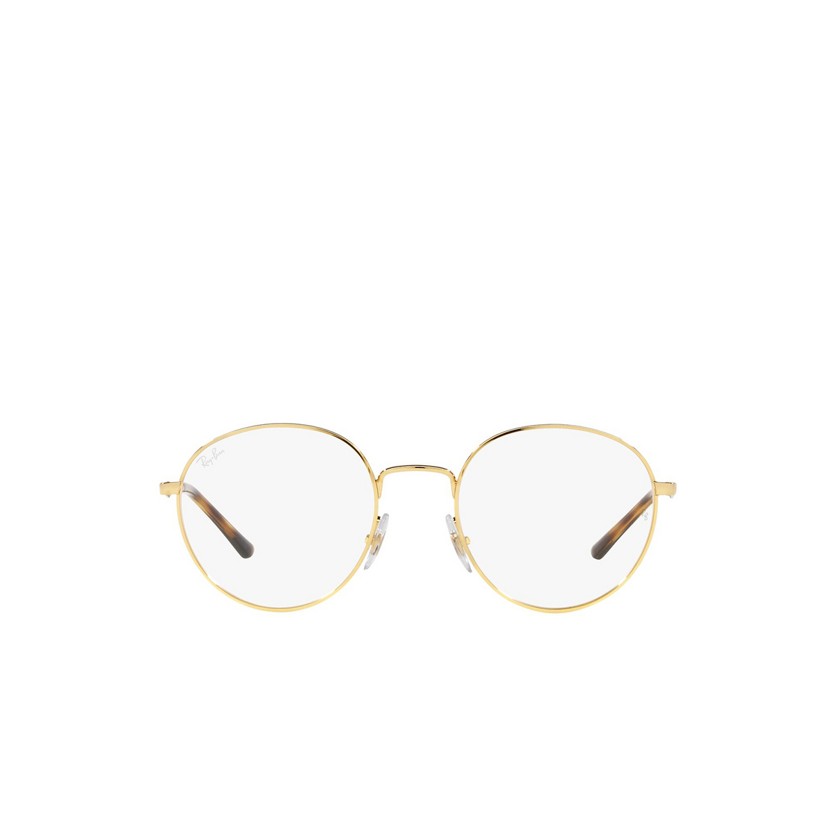 Ray-Ban® Round Eyeglasses: RX3681V color Arista 2500 - front view.