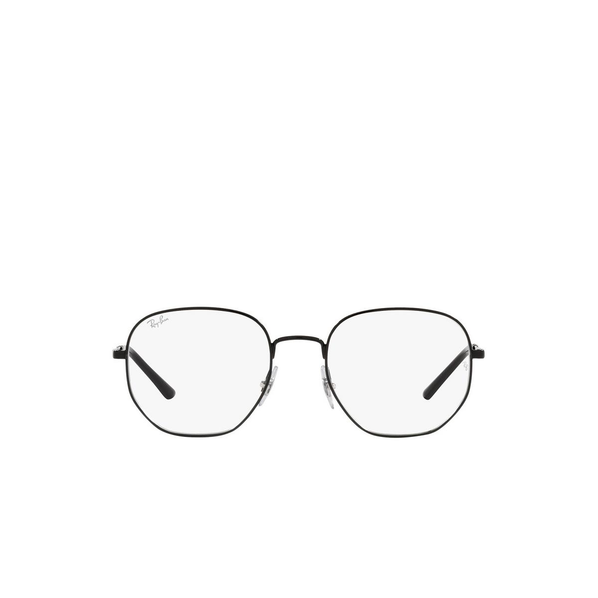 Ray-Ban® Irregular Eyeglasses: RX3682V color Black 2509 - front view.