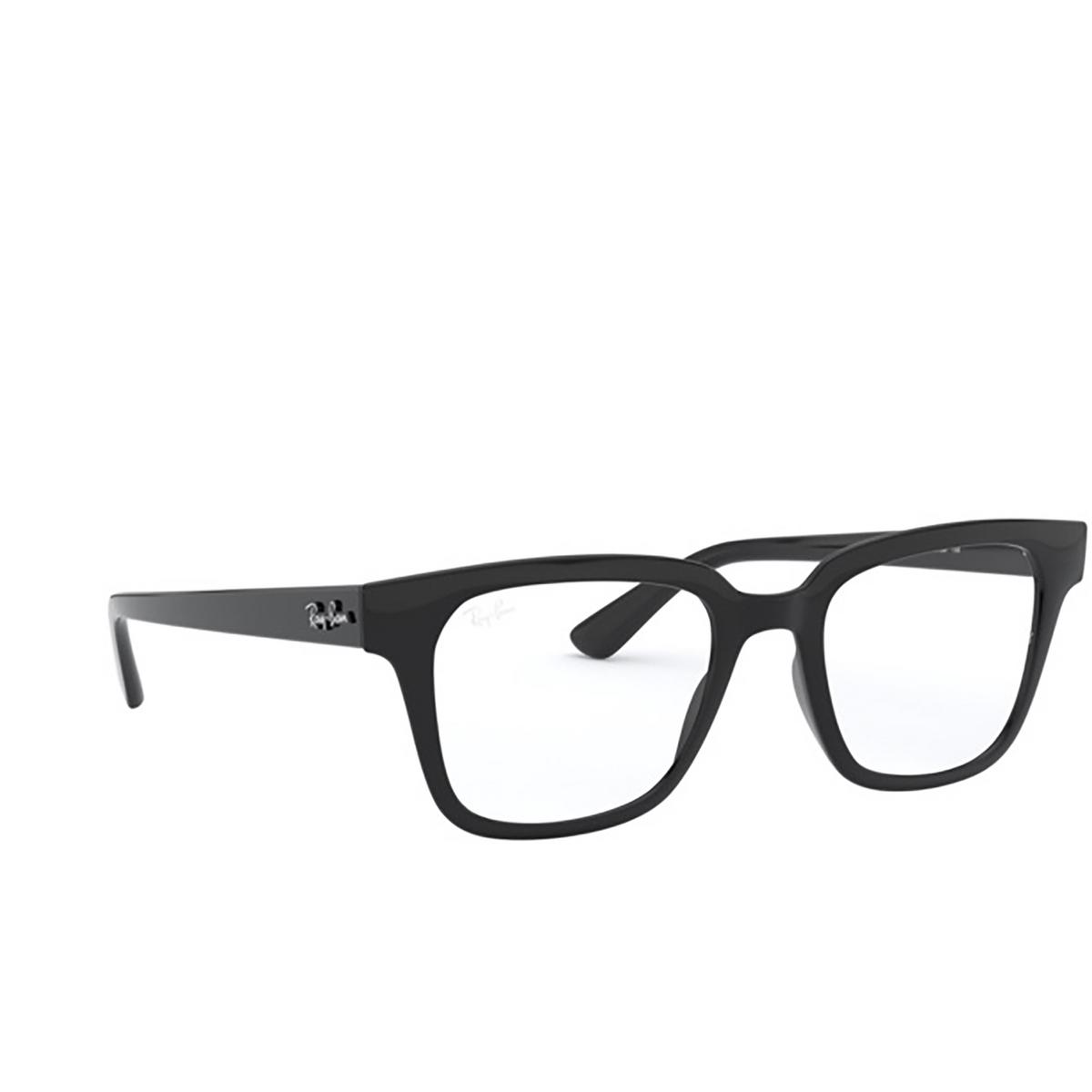 Ray-Ban® Square Eyeglasses: RX4323V color Black 2000.