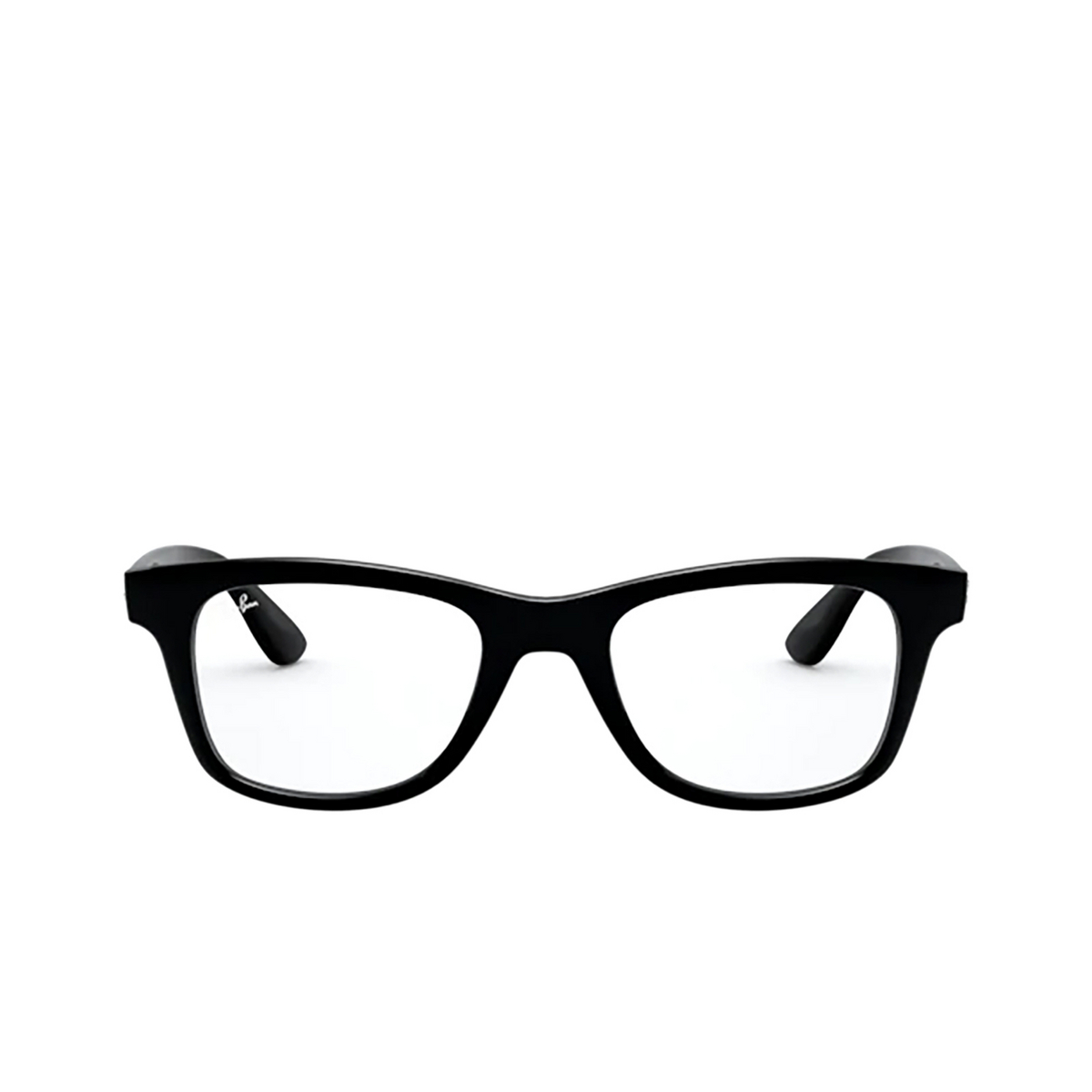 Ray-Ban® Square Eyeglasses: RX4640V color Black 2000.