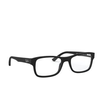 Ray-Ban® Square Eyeglasses: RX5268 color Matte Black 5119.
