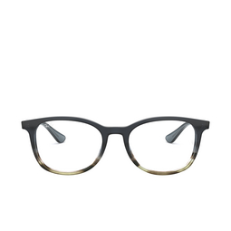 Ray-Ban® Eyeglasses: RX5356 color Gradient Grey On Stripped Grey 5766.
