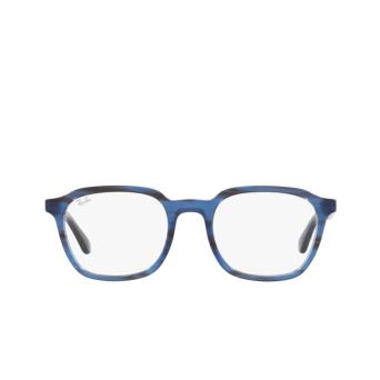 Ray-Ban® Square Eyeglasses: RX5390 color Striped Blue 8053.
